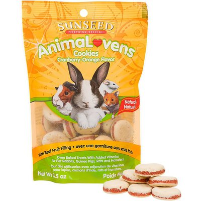 Sunseed Animal Lovens Cookies Small Animal Treats
