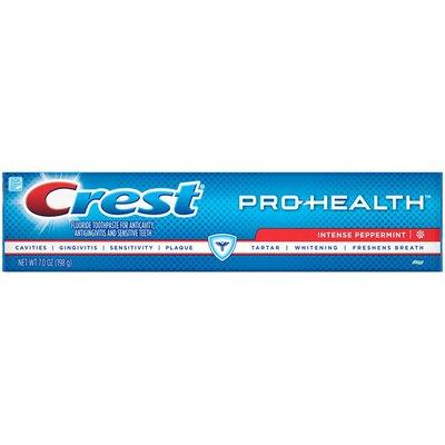 Crest Pro-Health Fluoride Intense Peppermint Toothpaste