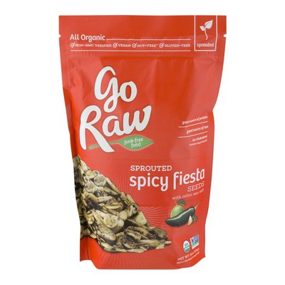 Go Raw Sprouted Seeds Spicy Fiesta With Celtic Sea Salt