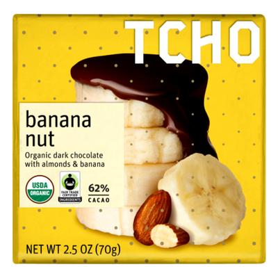 TCHO Banana Nut 64%