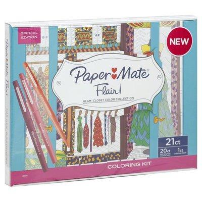 Paper Mate Coloring Kit