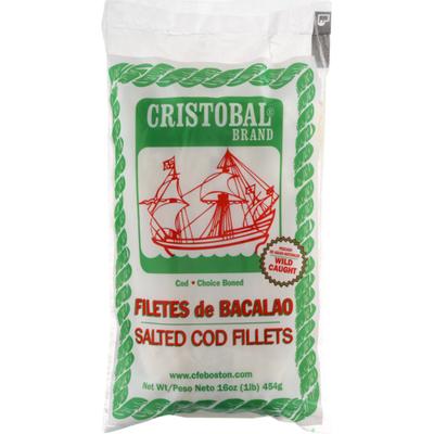 Cristobal Brand Salted Cod Fillets