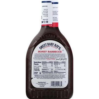 Sweet Baby Ray's Barbecue Sauce, Honey