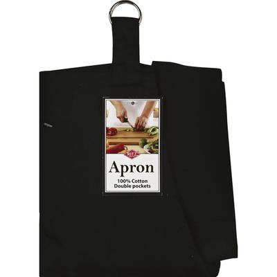 Ritz Apron, Solid, Black