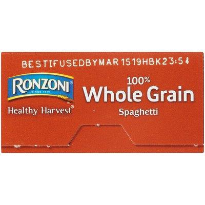 Ronzoni Healthy Harvest 100% Whole Grain Spaghetti Pasta