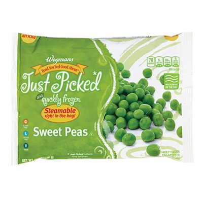 Wegmans Food You Feel Good About Just Picked and Quickly Frozen Sweet Peas
