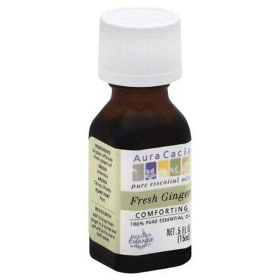 Aura Cacia Essential Oil, 100% Pure, Fresh Ginger