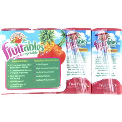 Apple & Eve Juice Beverage, Fruits & Vegetables, Fruit Punch, Boxes, 8 Pack