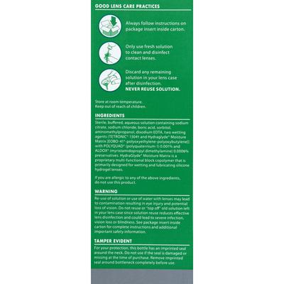 OPTI-FREE Disinfecting Solution, Multi-purpose, All Day Comfort