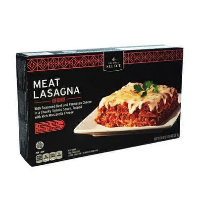 Signature Kitchens Lasagna, with Meat Sauce, Family Size