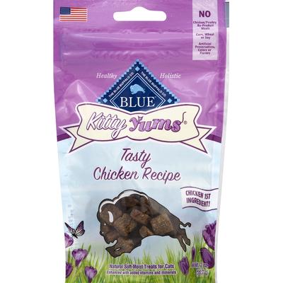 Blue Treats for Cats, Natural Soft-Moist, Tasty Chicken Recipe