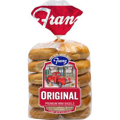 Franz Bagels, Premium, Mini, Original