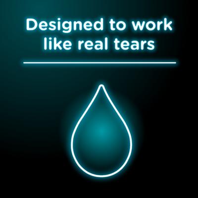 VISINE Dry Eye Relief Lubricant Eye Drops