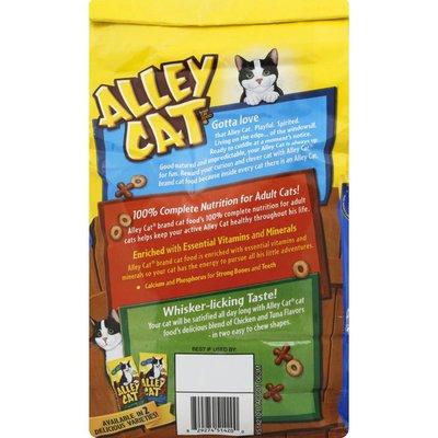 Alley Cat Cat Food, Chicken & Tuna Flavors