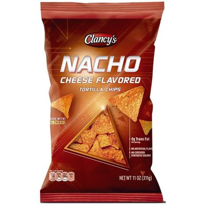 Clancy's Nacho Cheese Flavored Tortilla Chips