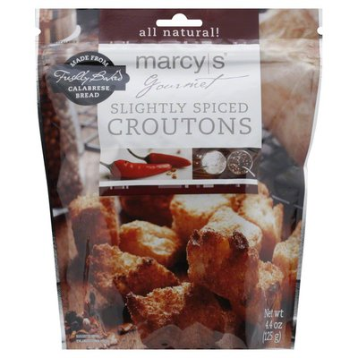 Marcys Croutons, Slightly Spiced