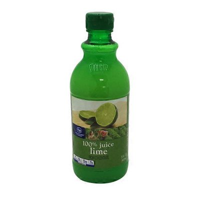 Kroger 100% Juice, From Concentrate, Lime