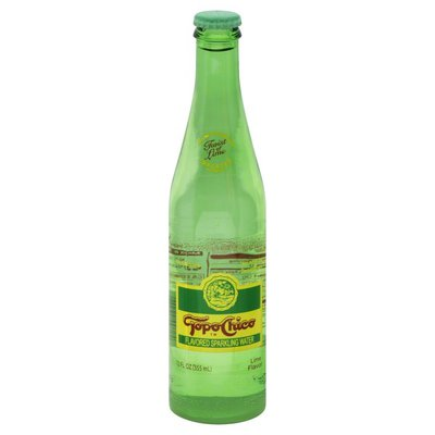 Topo Chico Natural Lime Flavor Mineral Water