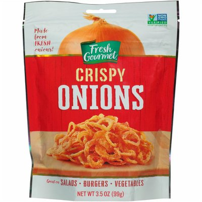 Fresh Gourmet Onions, Crispy