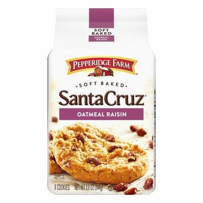 Pepperidge Farm®  Santa Cruz® Soft Baked Oatmeal Raisin Cookies