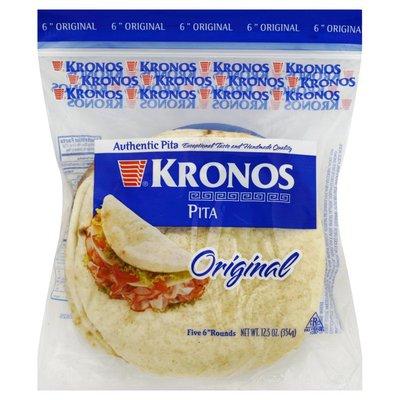 Kronos 6 Inch Handmade Pita Bread
