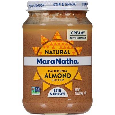 Maranatha Creamy Natural California Almond Butter