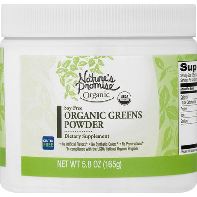 Nature's Promise Organic Greens, Gluten Free, Powder