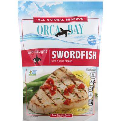 Orca Bay Seafoods Swordfish, Wild Caught, Firm & Mild Steaks