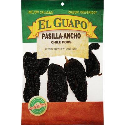 El Guapo®  Whole Pasilla Ancho Chili Pods (Chile Pasilla Ancho)