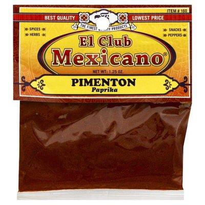 El Club Mexicano Paprika, Card