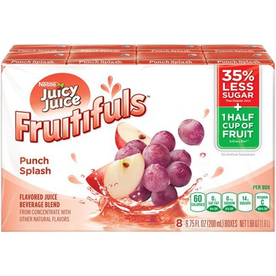 Juicy Juice Fruitifuls Punch Splash Fruitifuls Juice Beverage blend from concentrate with other natural flavors