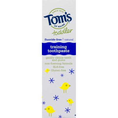 Tom's of Maine Toothpaste, Training, Fluoride-Free, Mild Fruit
