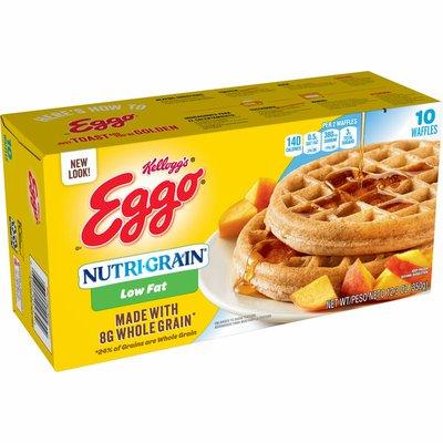 Eggo Frozen Waffles, Low Fat, Good Source of 9 Vitamins and Minerals