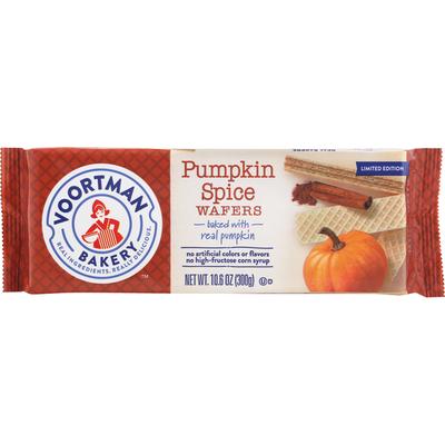 Voortman Wafers, Pumpkin Spice