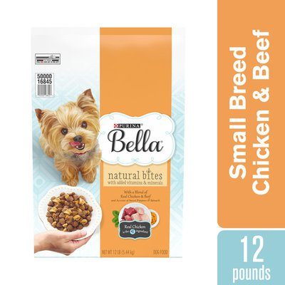 Purina Natural Small Breed Dry Dog Food, Natural Bites With Real Chicken & Beef