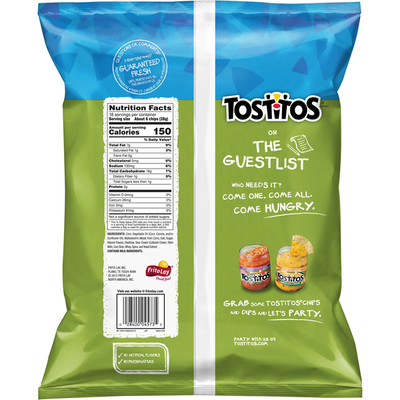 Tostitos Hint Of Lime