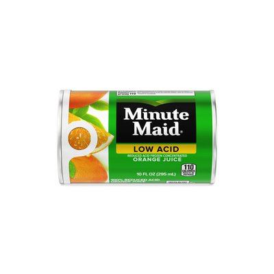 Minute Maid Orange Reduced Acid Juice Can