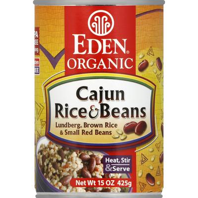 Eden Foods Rice & Beans, Cajun