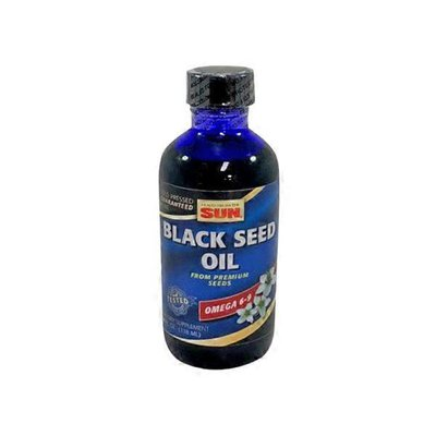 Health From The Sun Omega 6-9 Cold-Pressed Black Seed Oil