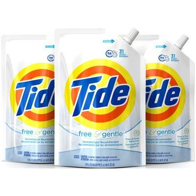Tide Free & Gentle HE Liquid Laundry Detergent