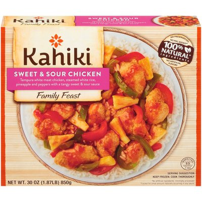 Kahiki Sweet & Sour Chicken Family Feast
