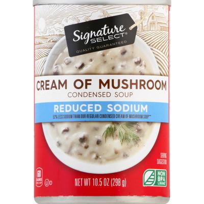 Signature Select Condensed Soup, Cream of Sodium