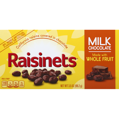 Raisinets Raisins, Milk Chocolate