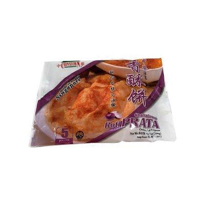 Mandarin French Onion Roti Prata