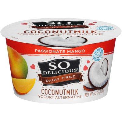 So Delicious Dairy Free Passionate Mango Coconutmilk Yogurt