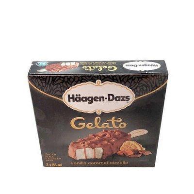Haagen-Dazs Vanilla Caramel Pizzelle Gelato Ice Cream Bars