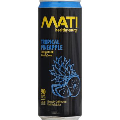 MATI Energy Drink, Tropical Pineapple