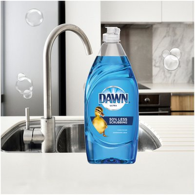 Dawn Ultra Dishwashing Liquid Dish Soap, Original Scent