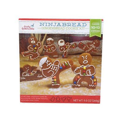 In The Mix Ninjabread Gingerbread Cookie Kit