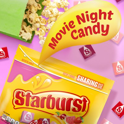 Starburst Favereds Fruit Chews Chewy Candy Sharing Size
